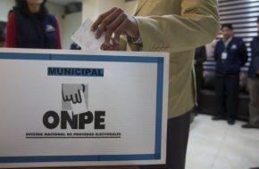 ONPE Miembros de Mesa para Elecciones de 5 Octubre 2014