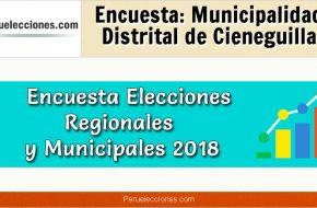 Encuesta Online Alcaldía de Cieneguilla – Mes Setiembre 2018