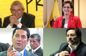 Ultimas Encuesta para Alcaldia de Lima de CPI, Datum, IPSOS (Elecciones Municipales 2014)
