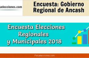 Encuesta Online Gobierno Regional de Áncash – Mes Octubre 2018