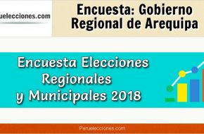 Encuesta Online Gobierno Regional de Arequipa – Mes Octubre 2018