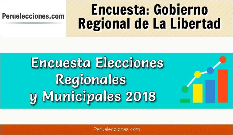 Encuesta Gobierno Regional de La Libertad Elecciones 2018