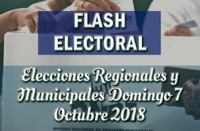 Resultados Boca de Urna Flash Electoral – Elecciones del Domingo 7 de Octubre 2018